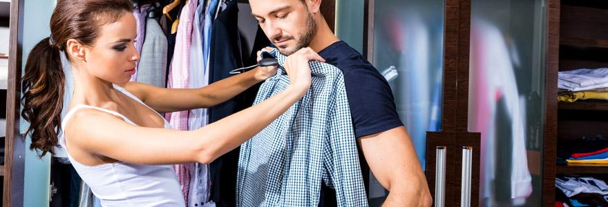 Acheter des chemises qualité pour homme