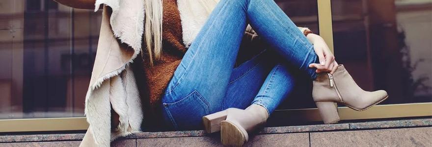 bottines confort optimal des pieds