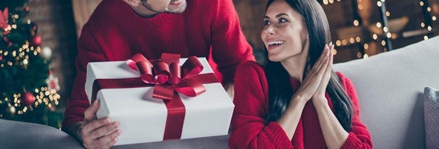 Box cadeau à un couple d'amis