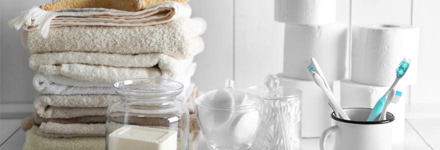 brosses à dent et serviettes