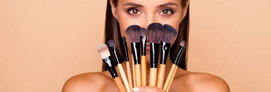 Choisir son pinceau de maquillage