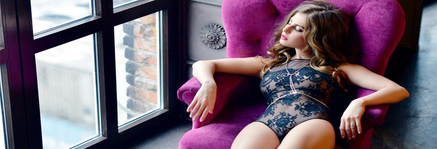 Lingerie féminine sexy