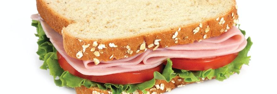 Livraison de sandwich
