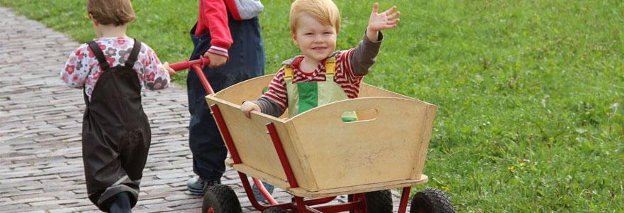 porteur en bois pour bébé